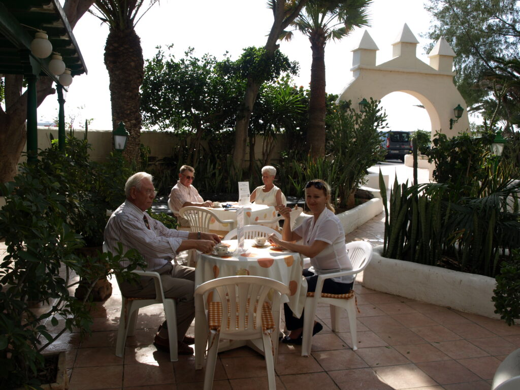 Gartencafe, Hotel Playa sur Tenerife